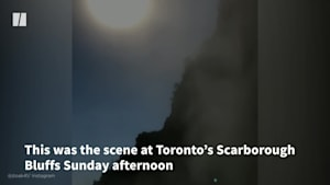 Partial Collapse Of Popular Toronto Landmark Caught On Camera