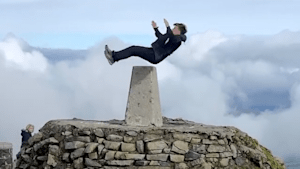 This young parkour athlete is jumping all over the U.K.