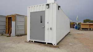 Manitoba Turns Shipping Containers Into Nursing Home Visitation Rooms