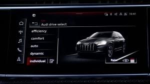 Der Audi SQ7 - das Interieurdesign