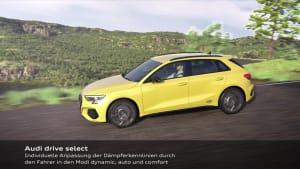 Der neue Audi S3 Sportback - Adaptiv-Fahrwerk Animation