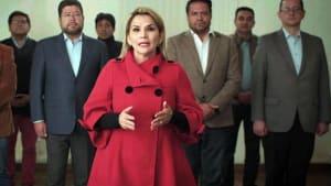 Front gegen die Sozialisten: Boliviens Übergangspräsidentin Áñez zieht Kandidatur zurück
