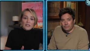 Sharon Stone: Unter Tränen auf Feuer-Evakuierung gewartet