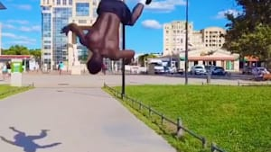 French athlete is the king of acrobatic gymnastics