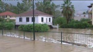 Hurrikan Ianos in Griechenland: eine Tote, Vermisste und große Schäden