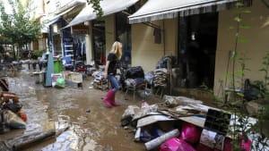 """""""Es ist die Hölle"""" - Spur der Verwüstung nach Medicane Ianos in Griechenland"""