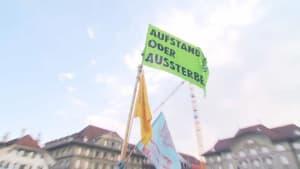 Klimastreik in Bern: Der Bundesplatz ist besetzt