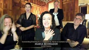 """""""Sprachlos!"""" - Maria Schrader über Emmy für """"Unorthodox"""""""