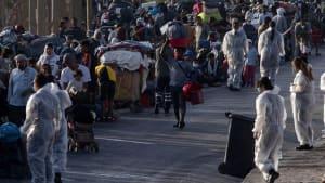"""Verzweiflung auf Lesbos: """"Wir wollen kein 'Lager der verlorenen Seelen' sein"""""""