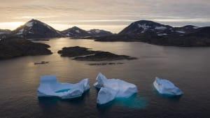 Meereis der Arktis schrumpft massiv