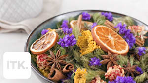 Don't throw out that old bouquet! Freshen up your home with potpourri