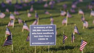 6 Wochen vor der Wahl: Mehr als 200.000 Covid-19-Tote in den USA