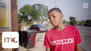 """This 12-year-old distributes """"blessing bags"""" filled with hygiene products and other items to help the homeless in Chicago"""