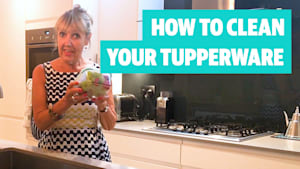 Top tips on how to clean your tupperware