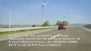 Der neue Skoda OCTAVIA RS iV mit Plug-in-Hybridantrieb