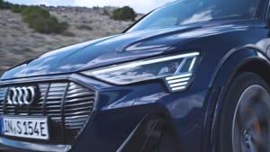 Der Audi e-tron S - Das Fahrerlebnis