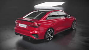 Der neue Audi S3 Limousine - Antrieb 2.0 TFSI Animation