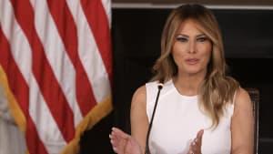 Enthüllungen über Melania Trump bringen das Weiße Haus ins Schwitzen