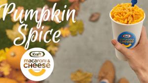 Kraft reveals new pumpkin spice mac n' cheese