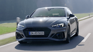 Das Audi RS 5 Coupé - Fulminanter Durchzug - der Antrieb