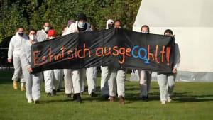 NRW: Großkampftag der Erdgas- und Kohlegegner