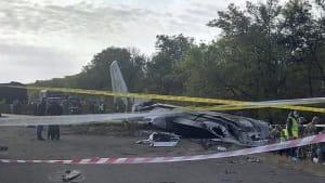 Absturz von Militärflugzeug in der Ukraine: 26 Tote und 1 Überlebender
