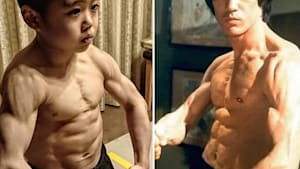 """This 10-year-old Kung Fu prodigy is a """"mini Bruce Lee"""""""