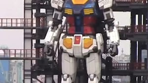 Giant moving 'Gundam' robot unveiled in Japan