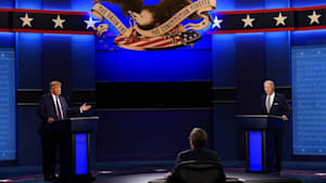 """""""Halten Sie die Klappe, Mann"""": Hartes Duell zwischen Trump und Biden"""