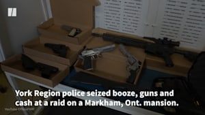 Cops Seize Millions In During Raid On Mansion