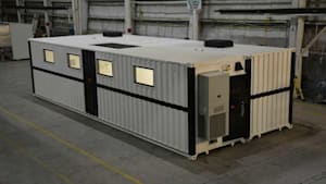 Companies Get Creative With Shipping Containers