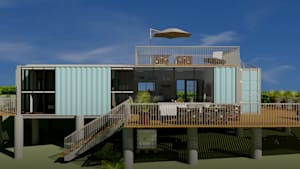 Puerto Rican architect transforms shipping containers into weather-resistant homes