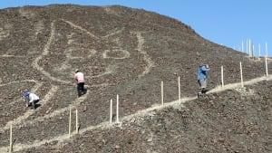 Katzengleich: Neuer Geoglyph nahe Nazca-Linien aufgespürt