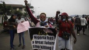 Protest in Lagos: Nigerias Mütter prangern Polizeigewalt an