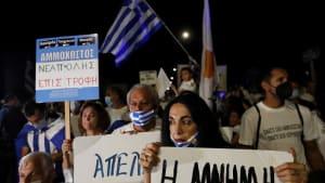 Gefühlsausbrüche im Grenzgebiet: Griechische Zyprer fordern Rückgabe von Varosha
