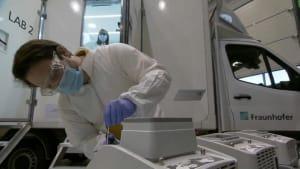 Corona-Testmobil soll schnelle Ergebnisse in Hotspots liefern