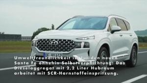 2021 Hyundai Santa Fe - SUV-Flaggschiff bietet Platz, Komfort und Sicherheit auf Top-Niveau