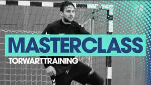 Torwarttraining: Masterclass mit Daniel Rebmann (FRISCH AUF! Göppingen)