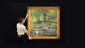 Ironisches Banksy-Gemälde für 8,4 Millionen Euro versteigert