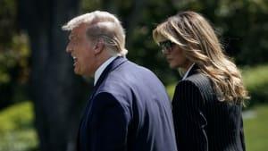 Donald Trump: Auf dieses Geschenk zum 10. Hochzeitstag hätte Melania gerne verzichtet