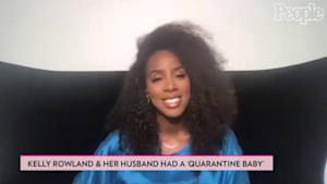 Pregnant Kelly Rowland Jokes Baby on the Way Is a Result of Quarantine: 'Not Much to Do'