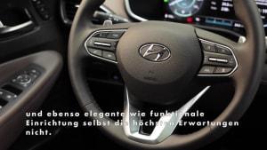 2021 Hyundai Santa Fe - Feines Ambiente - Interieur im schicken Lounge-Look