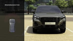 Audi Q2 – Adaptiver Fahrassistent Animation