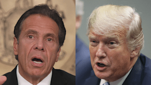 Andrew Cuomo says New York has lower infection rate than White House following Trump attack