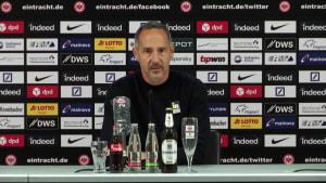 """Eintracht-Cheftrainer Adi Hütter vor Bayern: """"Wir werden leiden müssen"""""""