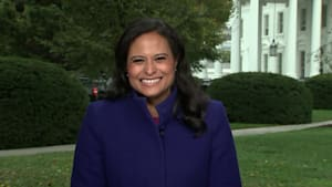 Kristen Welker reacts to Maya Rudolph's 'SNL' impression