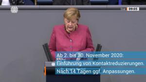 Corona: Merkel erklärt neue Lockdown-Regeln