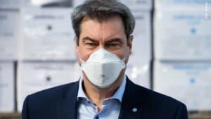 Sondersitzung zu Corona-Lockdown light von Ministerpräsident Söder