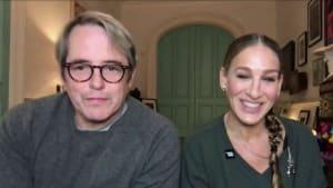 Sarah Jessica Parker and Matthew Broderick discuss ways to support Broadway