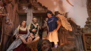 Maradona als Krippenfigur in Neapel